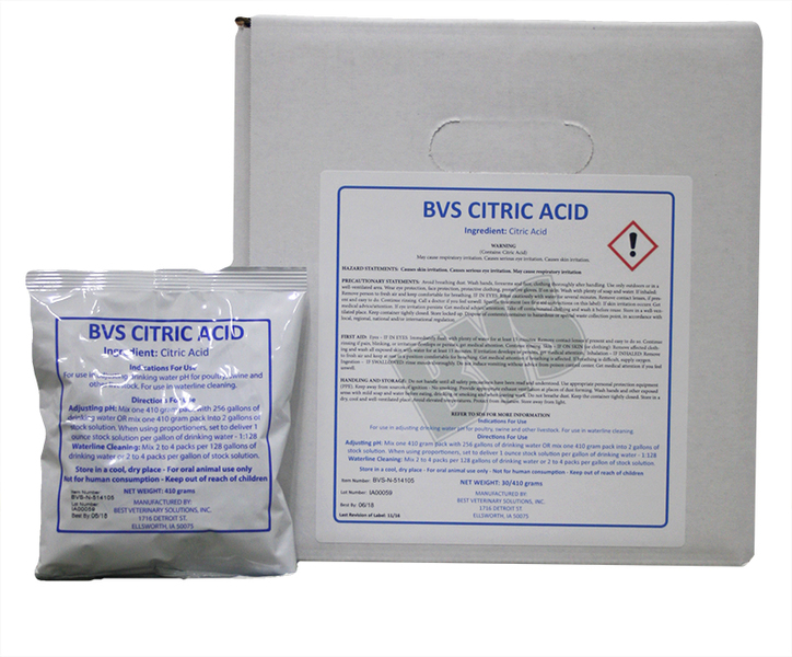 Citric Acid 410 gram pack