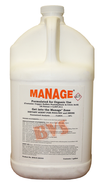 Manage Organic 1 gallon