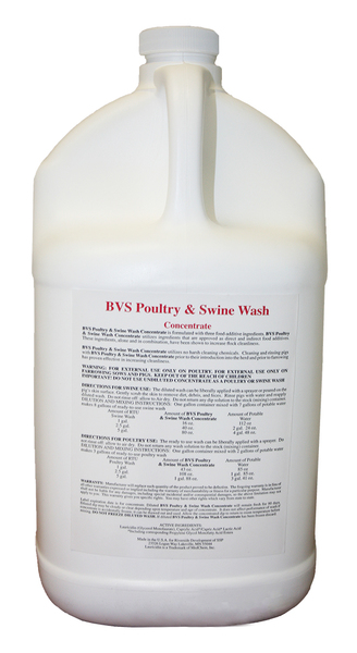 Poultry and Swine Wash 1 gallon