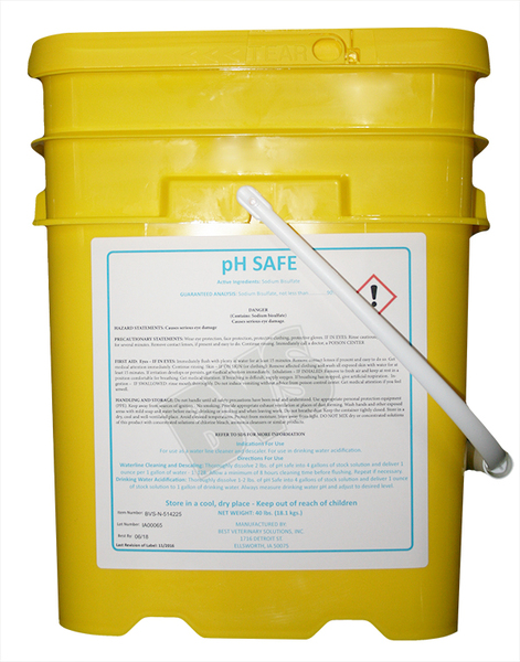 PH Safe 40lb bulk pail